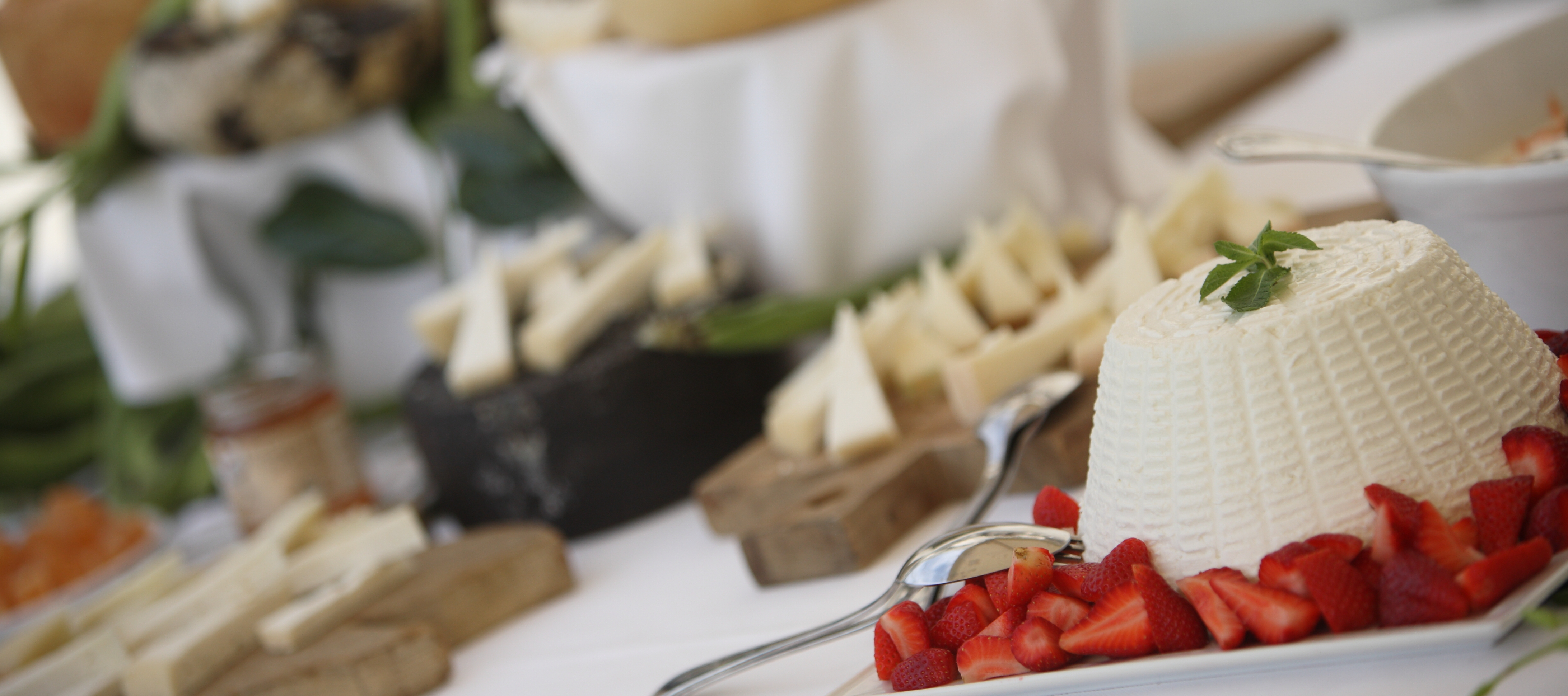 Tuscan cheese table