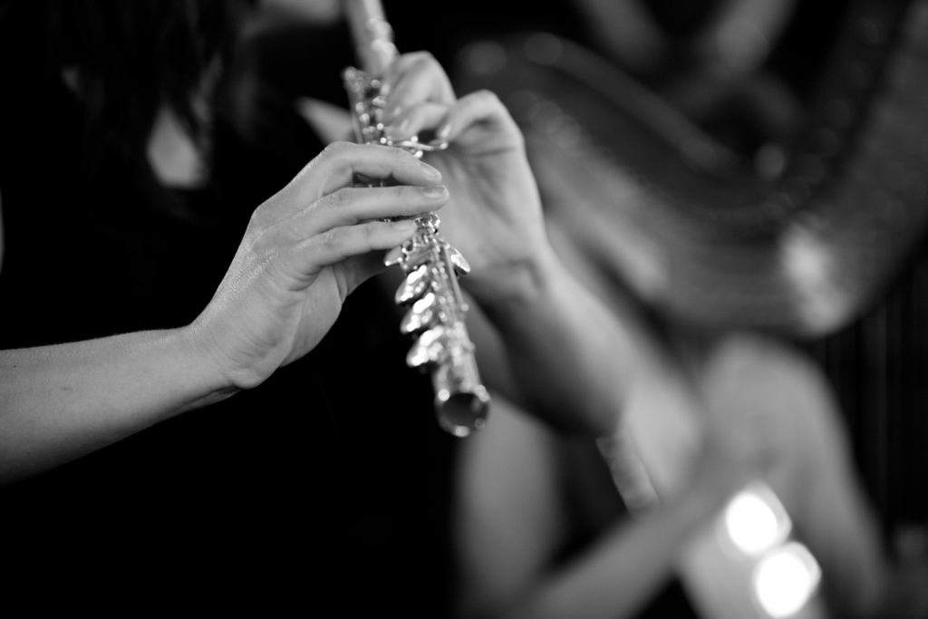 Wedding Music harp and flute