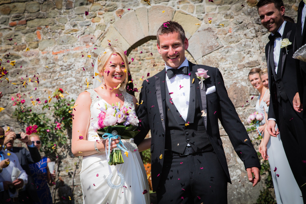 Just married in Lucca