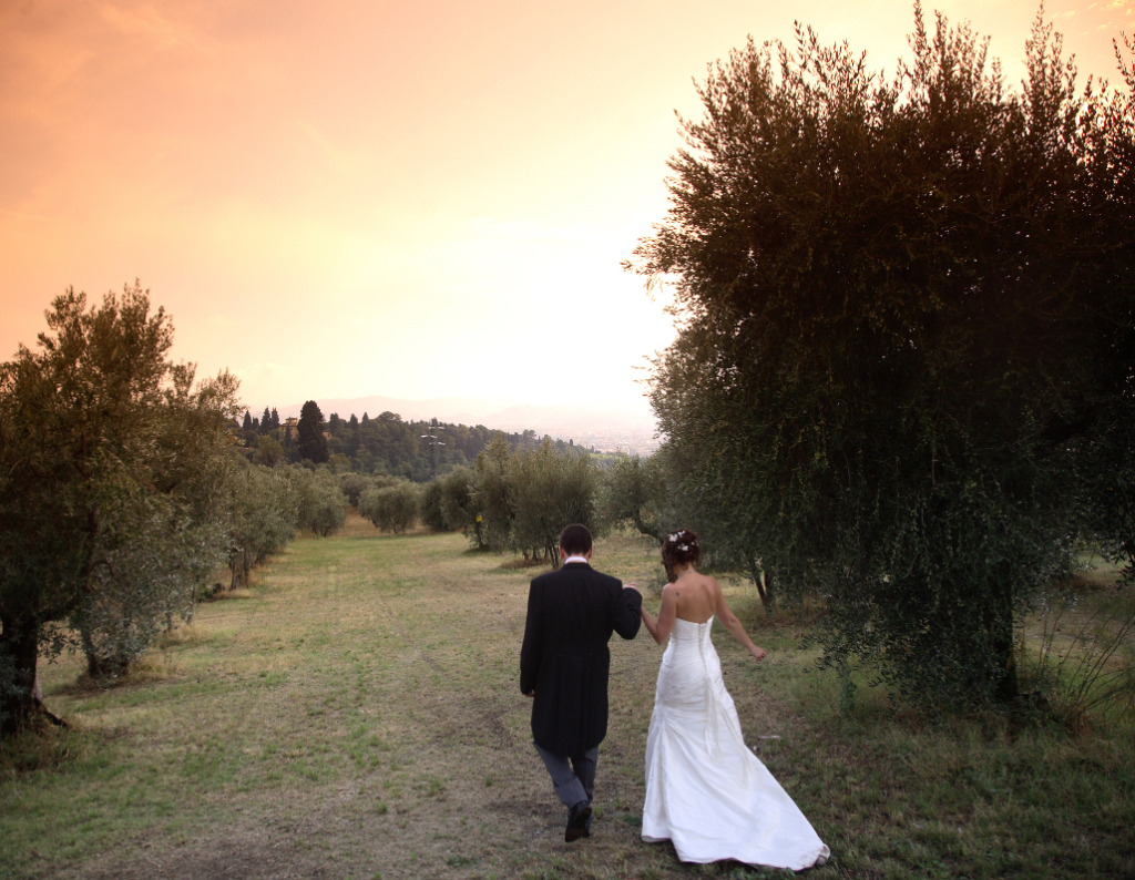 True love in the olive grove in Florence hills