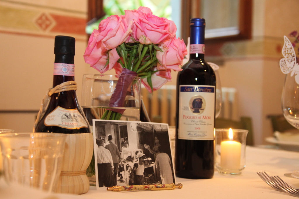Wine as Wedding favour