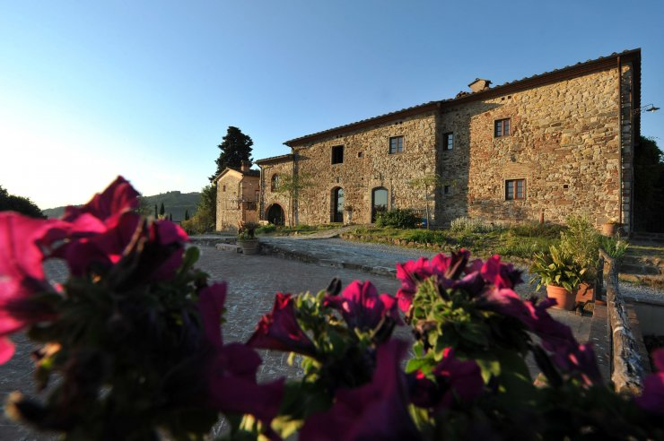 Rustic chic farm in Florence
