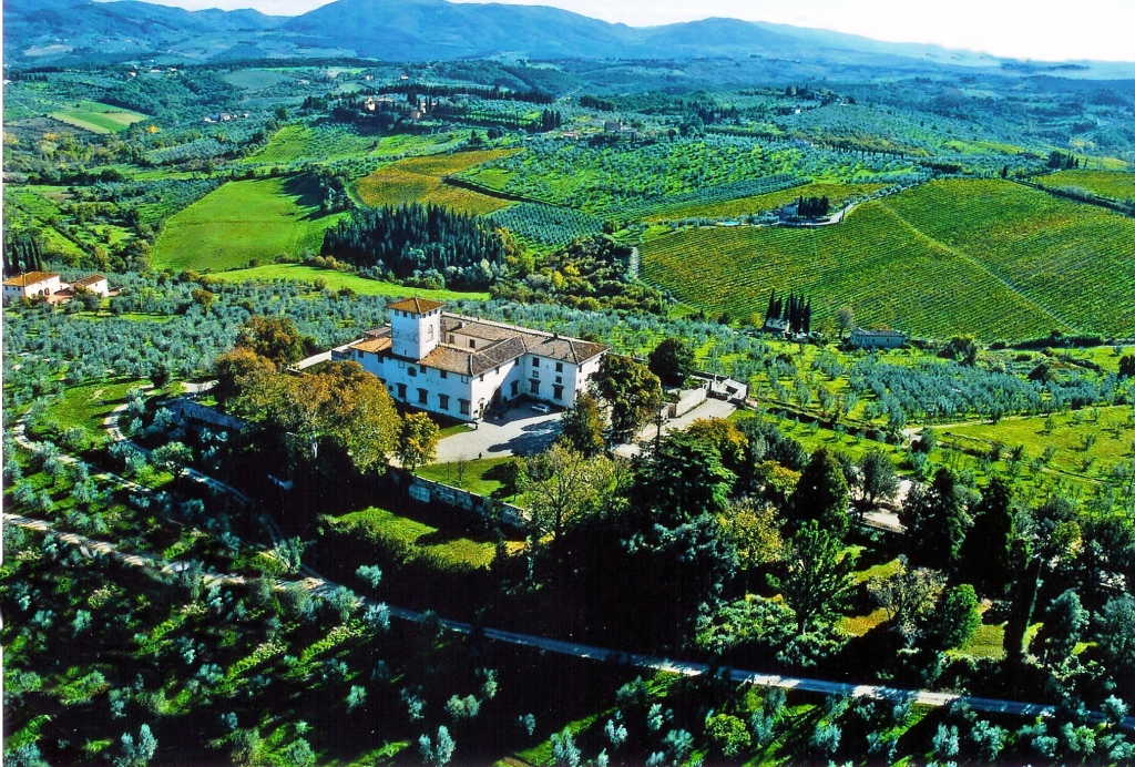 Wedding villa in Florence