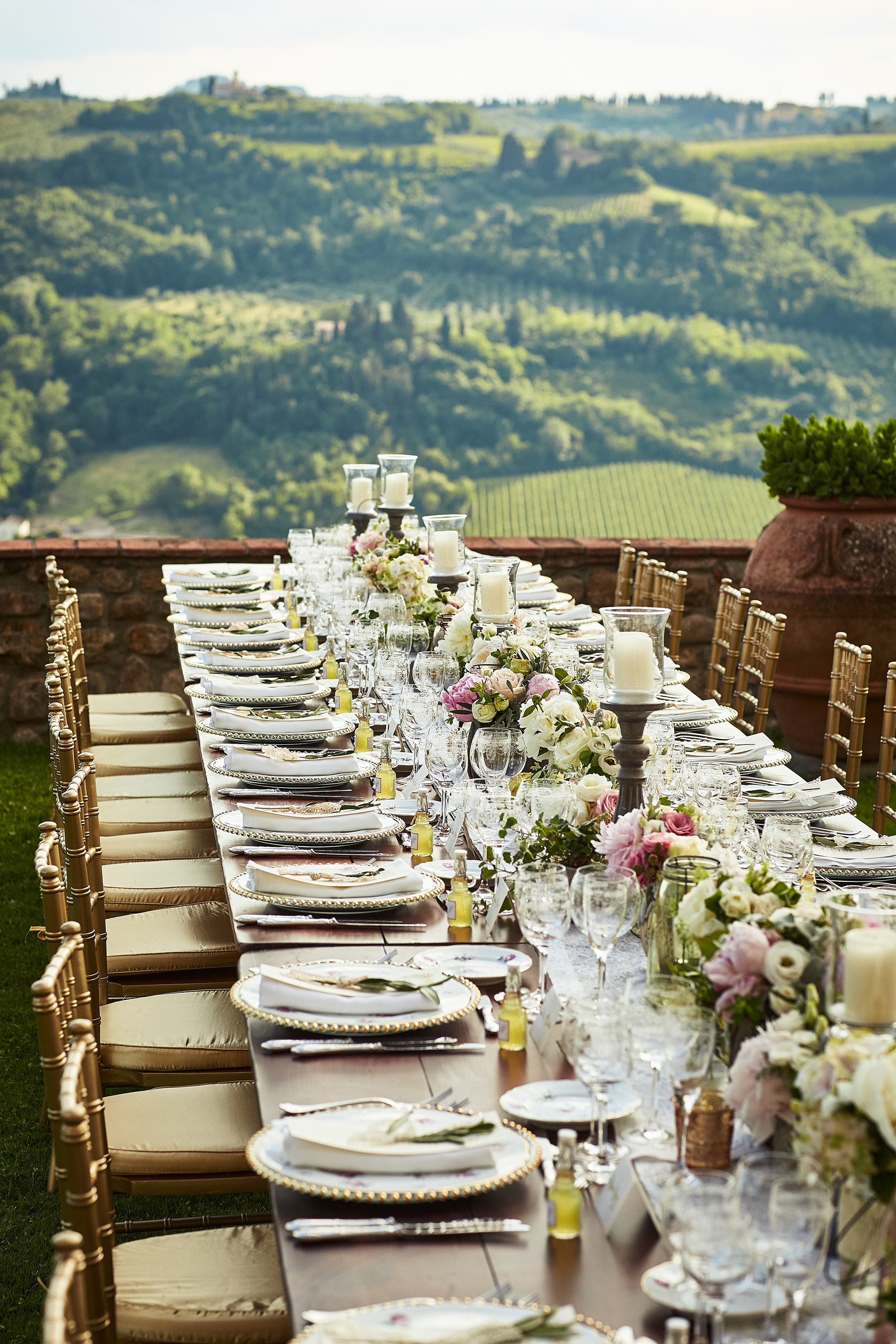 Country chic wedding in Tuscany