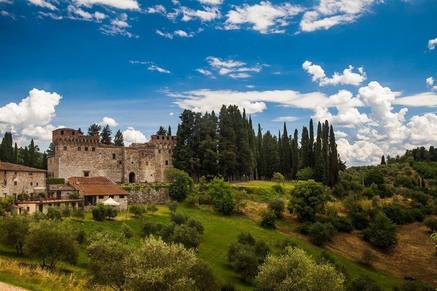 Medieval castle in Florence