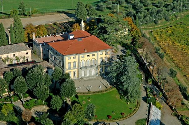 Historical villa estate n Chianti