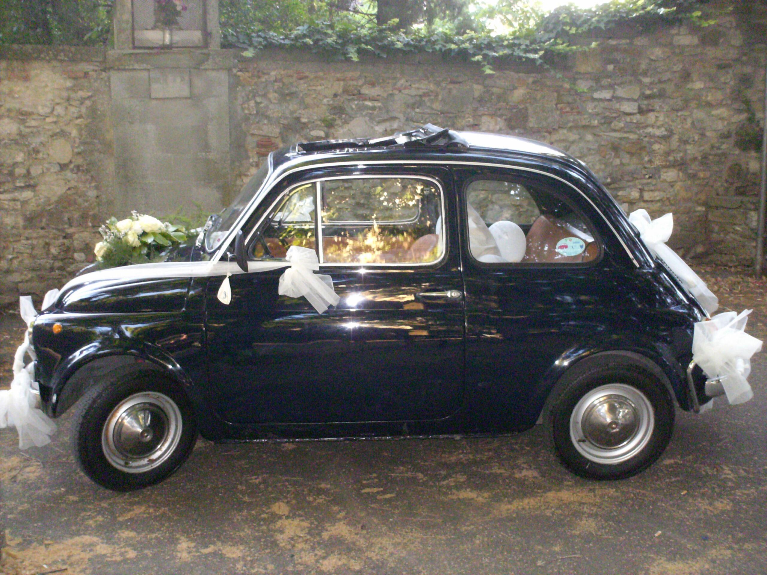 Italian classic Wedding Fiat