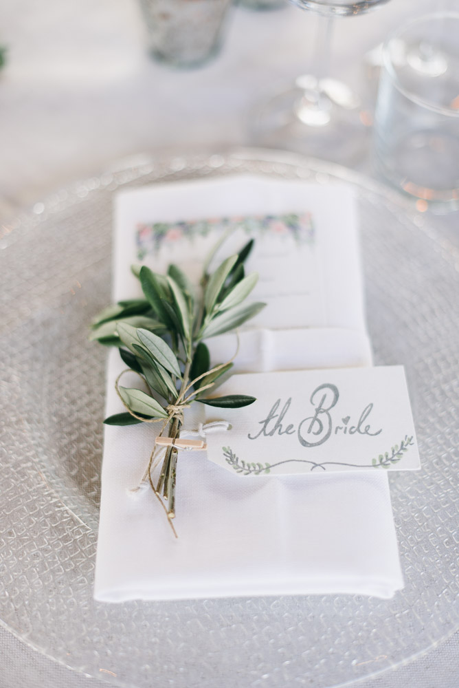 Pure White and glass table decor