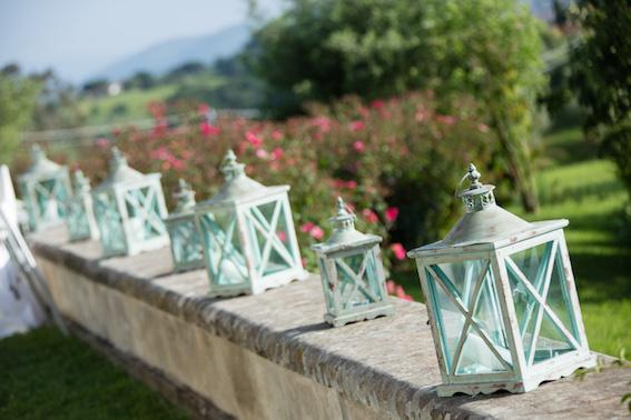 Green lantern in Tuscany