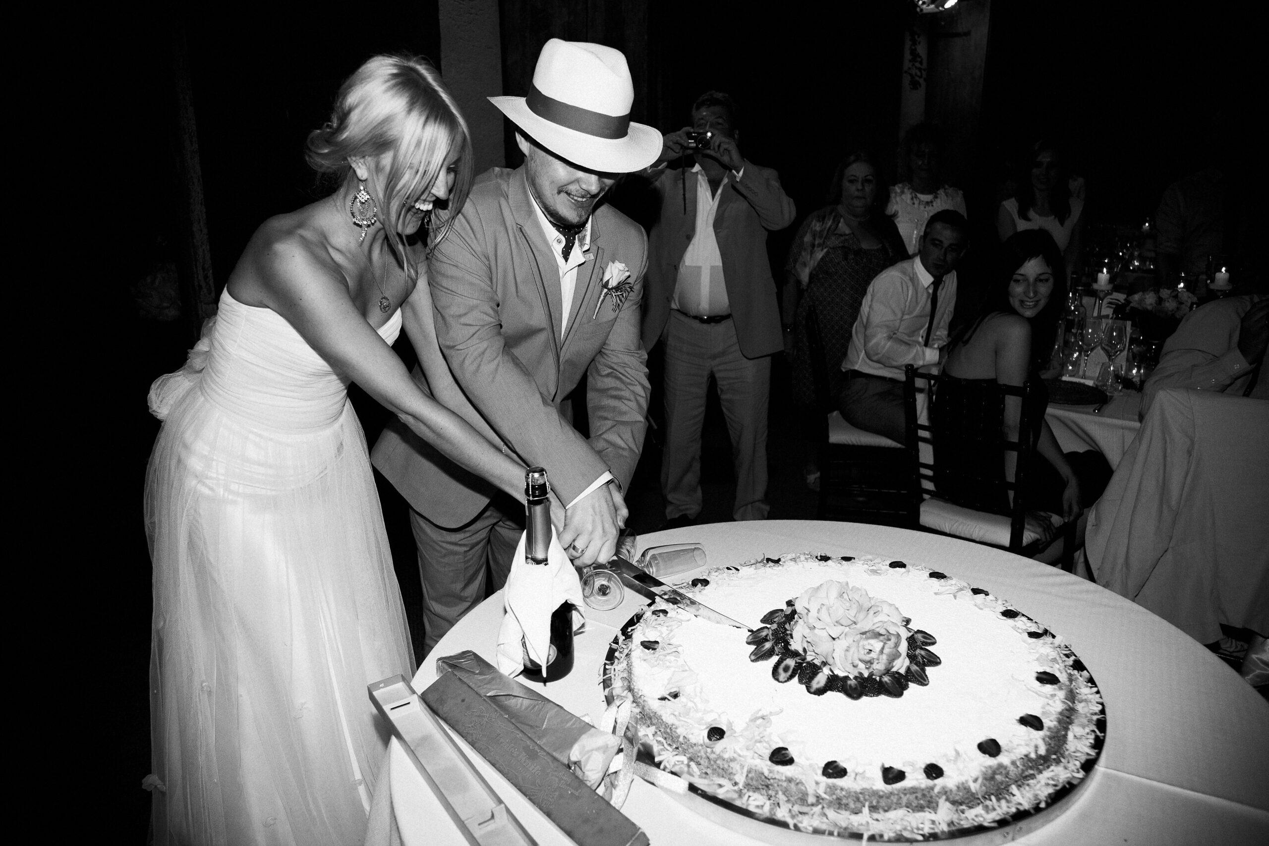Typical Italian wedding cake